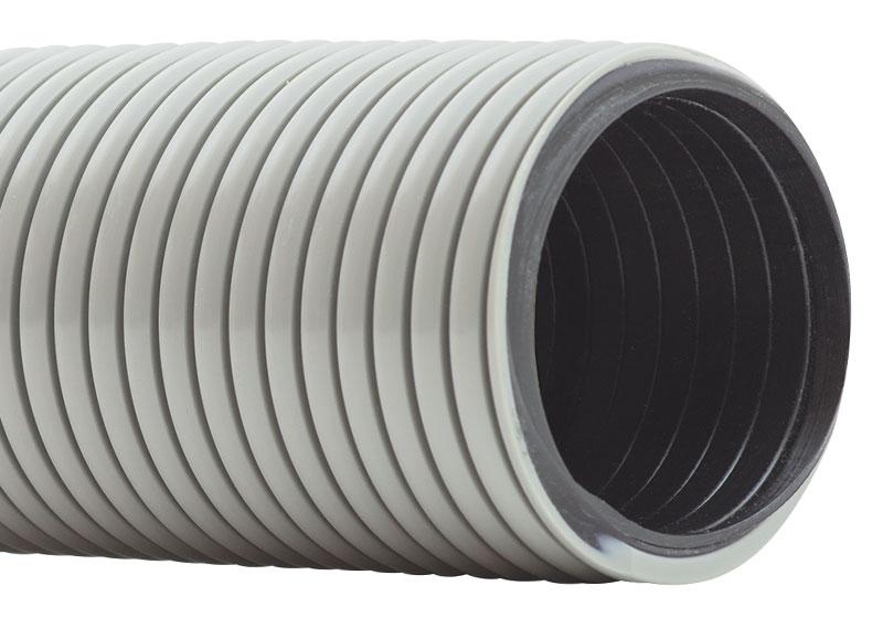 White 3 Hi-Tech Duravent PVC Screw On Hose Cuff
