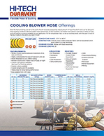 Cooling Blower Hose Offerings